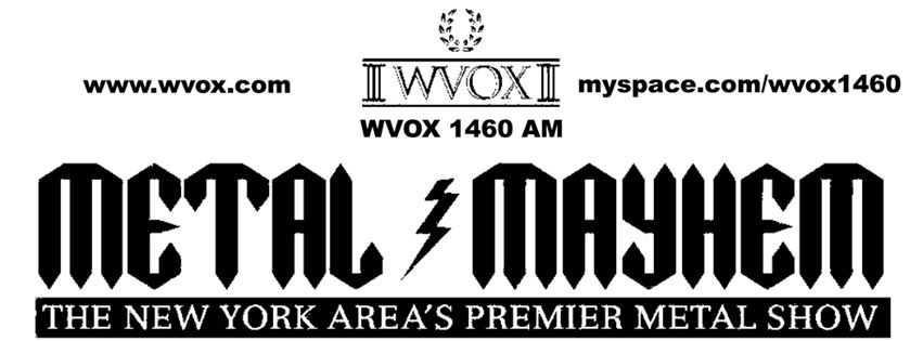 WVOX Metal Mayhem