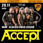 ACCEPT live 11-29 Tele Club