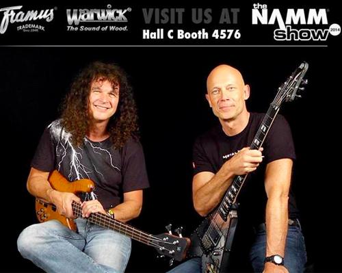 Meet Wolf Hoffmann And Peter Baltes At Namm 2014 Accept