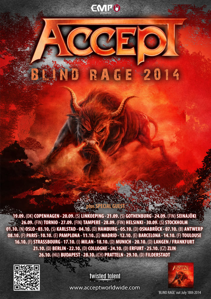 ACCEPT - Blind Rage 2014 TOURPOSTER-FINAL