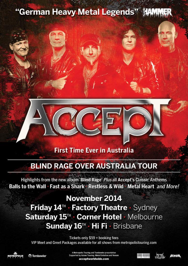 Accept Australia Poster