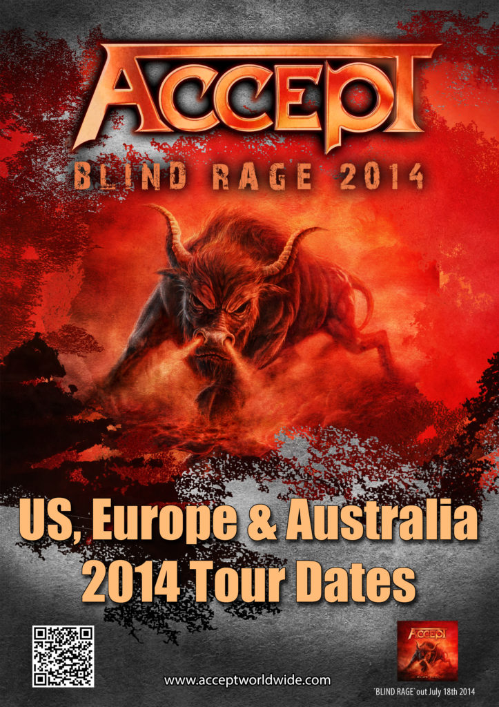 ACCEPT - Blind Rage 2014 TOURPOSTER-generic