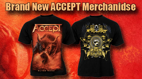 Check out all the Accept Merchandise Official Products