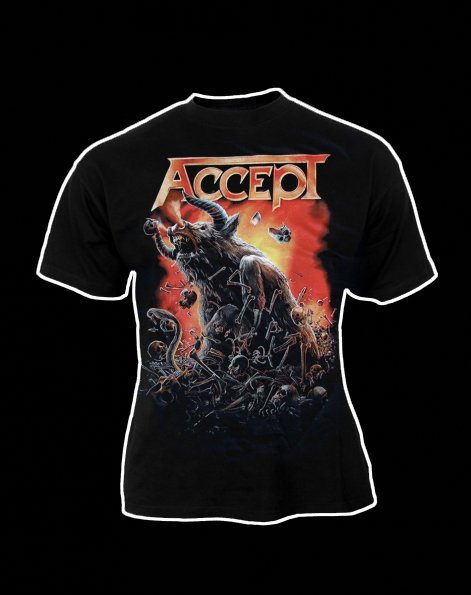 Accept Blind Rage Tour shirt